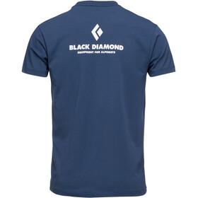 Black Diamond Equipment for Alpinist SS Tee Men ink blue